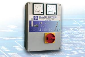 QAD 400E – Quadro Avviatore Diretto per Elettropompe Trifase 400V Elettronico