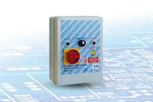 QAD1-400P - Quadro avviatore diretto per Elettropompe Trifase A400V Da 0,50HP A 15HP