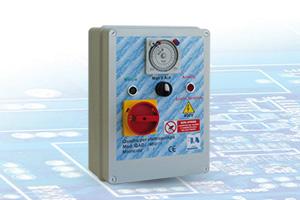 QAD2-400 R - Quadro avviatore diretto per Elettropompe Trifase A400V Da 0,50HP A 15HP Con Orologio Giornaliero