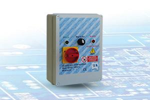 QAD2-400 RL - Quadro avviatore diretto per Elettropompe Trifase A400V Da 0,50HP A 15HP Con Relè di Livello