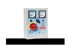 QAD3-240P VA - Quadro avviatore diretto per piccole elettropompe monofase a 230 V DA 0,50HP A 3HP. Con Voltmetro/Amperometro