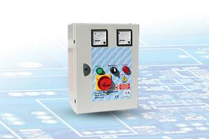 QAD3-400M V-A - Quadro Avviatore diretto per Elettropompe Trifase A 400V da 0,50 A 15HP con Voltmetro e Aperometro