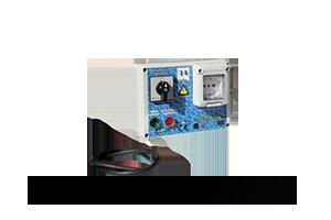 QAEL-240 - Quadro avviatore diretto per piccole elettropompe monofase a 230 V DA 0,50HP A 3HP.