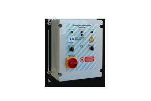 QAG-240 - Quadro avviatore diretto per gruppi gemellari A 230V da 0,50HP A 3 HP